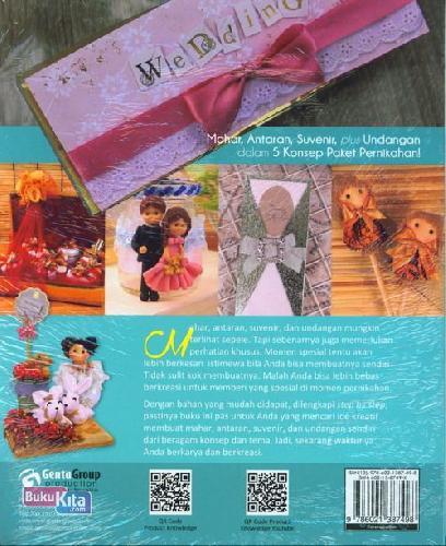 Cover Belakang Buku 4 In 1 Concept Mahar, Antaran&Suvenir