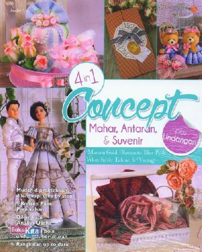 Cover Buku 4 In 1 Concept Mahar, Antaran&Suvenir