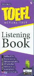 Toefl Actual Test Listening Book