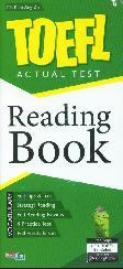 TOEFL ACTUAL TEST : Reading Book