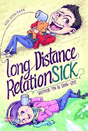 Cover Buku Long Distance Relationsick
