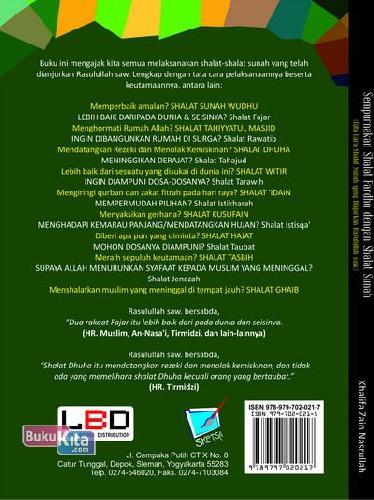 Cover Belakang Buku Sempurnakan Shalat Fardhu Dengan Shalat Sunah