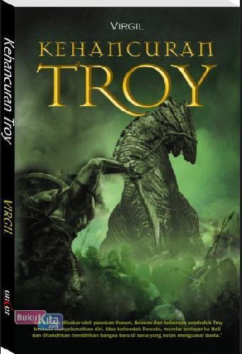 Cover Buku Kehancuran Troy
