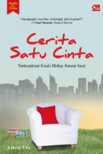 Cover Buku Cerita Satu Cinta