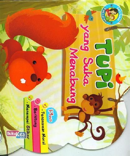 Cover Buku Tupi Yang Suka Menabung