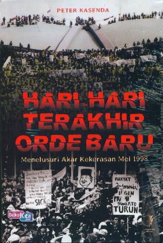 Cover Buku Hari-Hari Terakhir Orde Baru