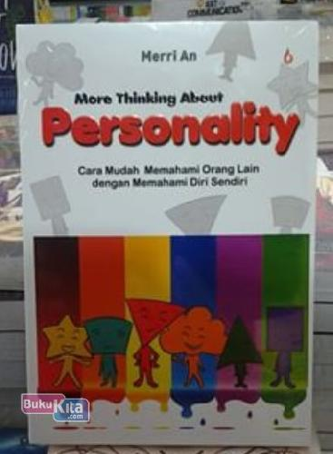 Cover Buku More Thinking About Personality