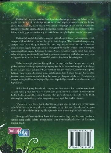 Cover Belakang Buku 24 Jam Dzikir & Doa Rasulullah