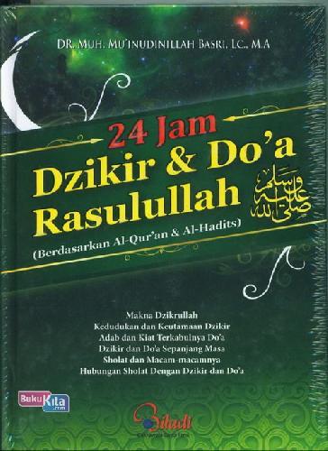 Cover Buku 24 Jam Dzikir & Doa Rasulullah