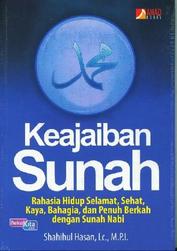 Cover Buku Keajaiban Sunah