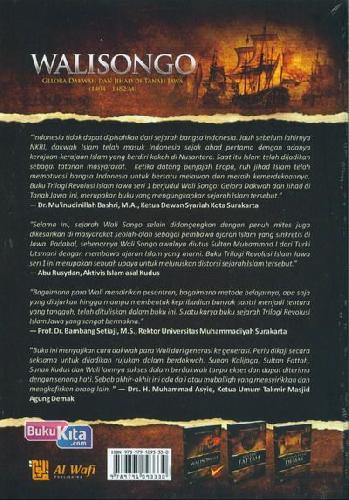 Cover Belakang Buku Walisongo : Gelora Dakwah dan Jihad di Tanah Jawa (1404-1482 M)