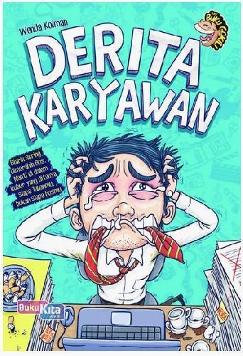Cover Buku Derita Karyawan