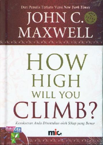 Cover Buku How High Will You Climb?