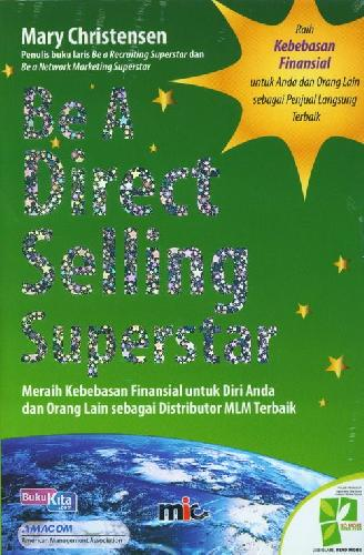 Cover Depan Buku Be A Direct Selling Superstar