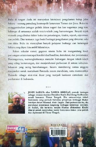 Cover Belakang Buku John Sakava : Lika Liku Perjalanan Mantan Staff Khs Kpl Bin