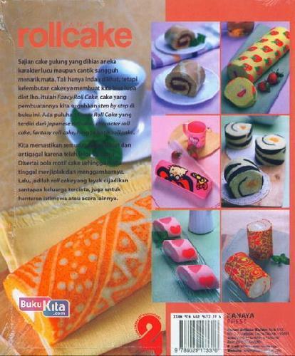 Cover Belakang Buku Fancy Roll Cake