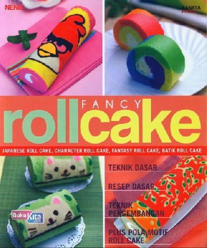 Cover Buku Fancy Roll Cake