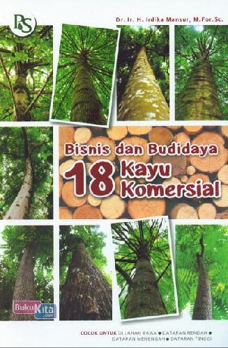 Cover Buku Bisnis&Budidaya 18 Kayu Komersial