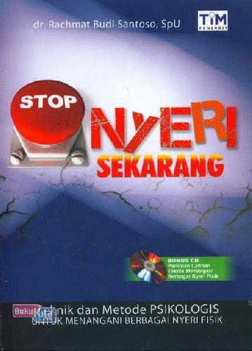 Cover Buku Stop Nyeri Sekarang
