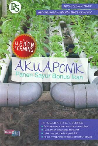 Cover Buku Akuaponik: Panen Sayur Bonus Ikan