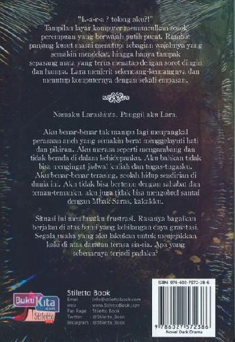 Cover Belakang Buku Lara : A Dark Story Of Woman