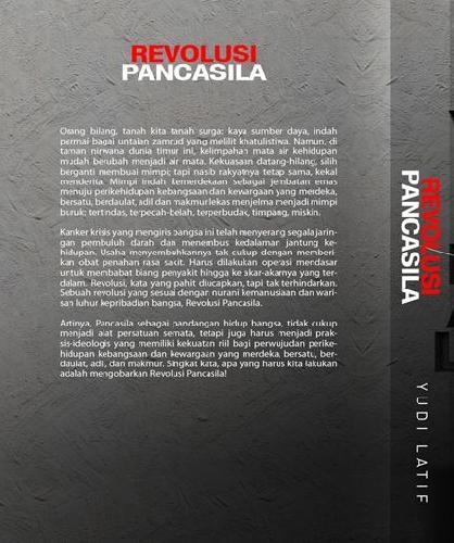 Cover Belakang Buku Revolusi Pancasila