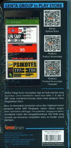 Cover Belakang Buku I Pocket Ringkasan Materi Ipa 7-8-9 Smp