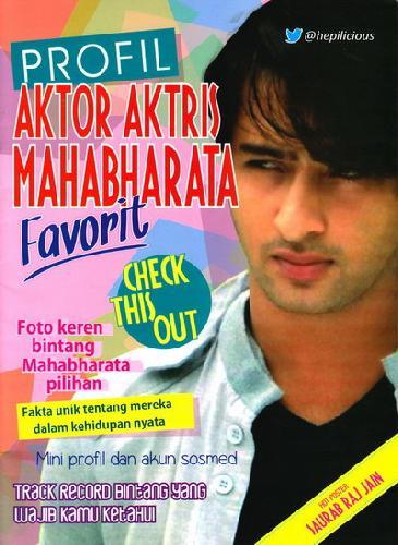 Cover Buku Profil Aktor Aktris Mahabharata Favorit