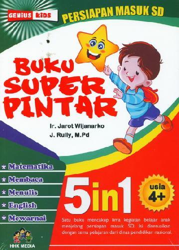 Cover Buku Buku Super Pintar 5In1 Usia 4+