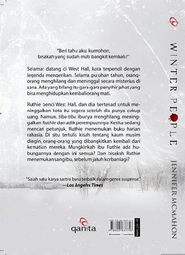 Cover Belakang Buku Winter People : Ketika Yang Mati Bangkit Kembali