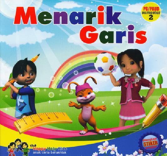 Cover Buku Menarik Garis PG/PAUD Semester 2