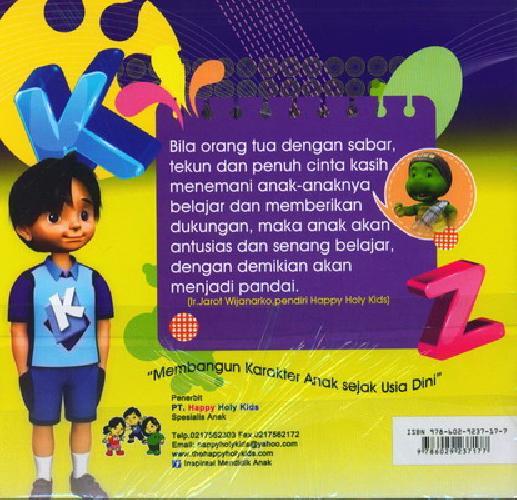 Cover Belakang Buku Mengenal Huruf PG/PAUD Semester 2