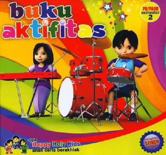 Cover Buku Buku Aktivitas PG/PAUD semester 2