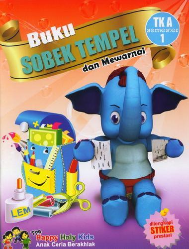 Cover Buku Buku Sobek Tempel TK A semester 1