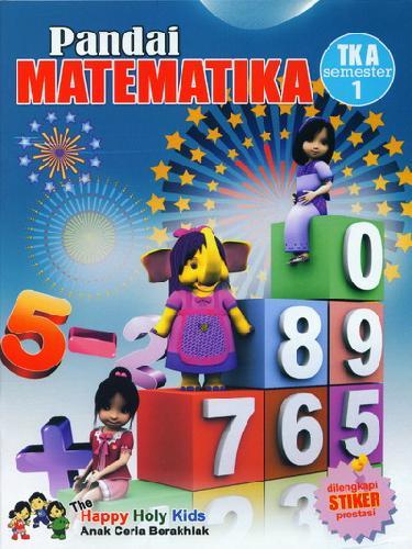 Cover Buku Pandai Matematika TK A semester 1