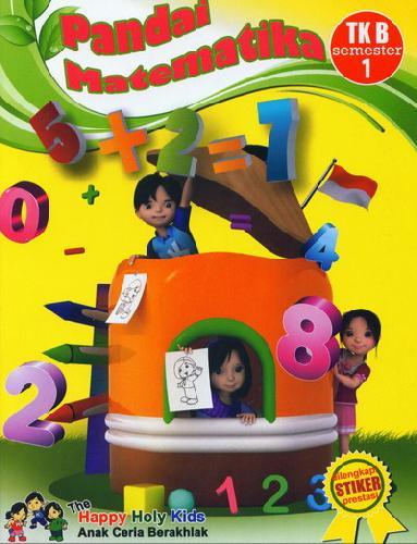 Cover Buku Pandai Matematika TK B semester 1