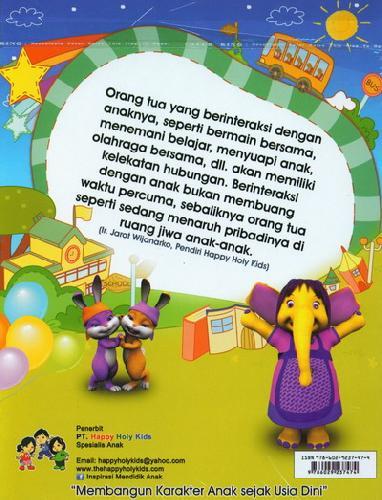 Cover Belakang Buku Buku Aktifitas TK A semester 1