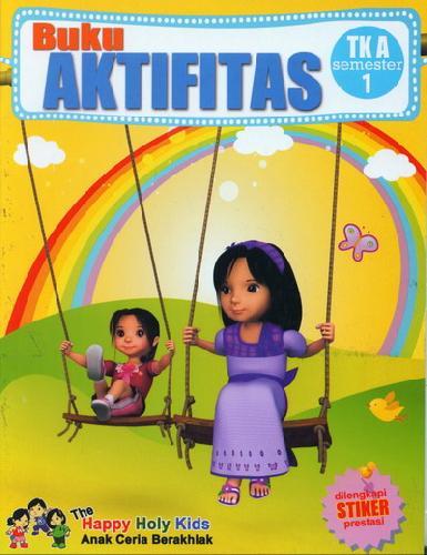 Cover Buku Buku Aktifitas TK A semester 1