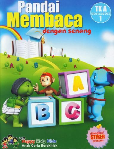 Cover Buku Pandai Membaca dengan senang TK A semester 1