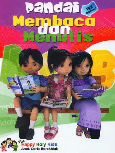 Cover Buku Pandai Membaca dan Menulis TK B semester 2