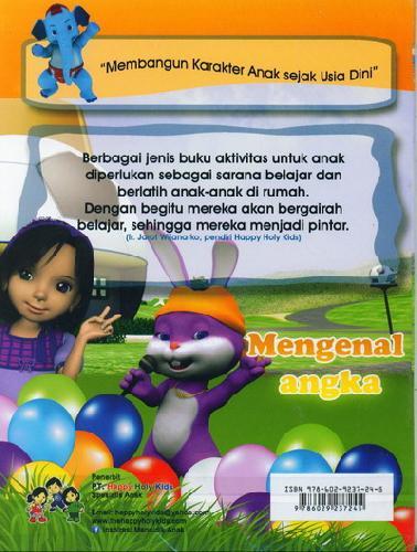 Cover Belakang Buku Mengenal Angka TK A semester 2