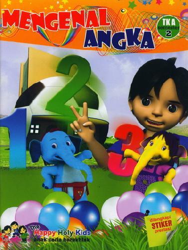 Cover Buku Mengenal Angka TK A semester 2