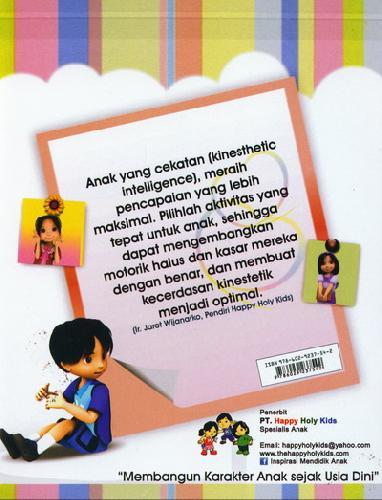 Cover Belakang Buku Buku Aktifitas TK B semester 1