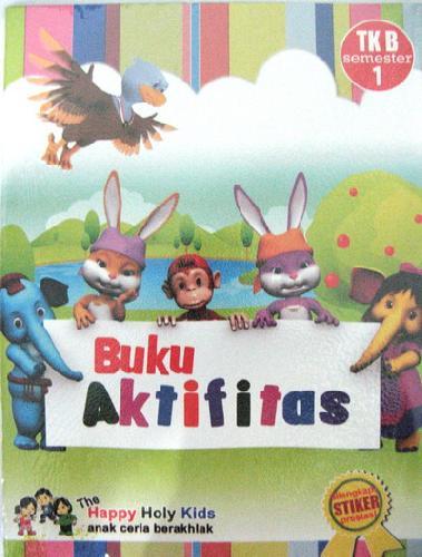 Cover Buku Buku Aktifitas TK B semester 1
