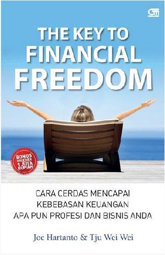 Cover Buku The Key To Financial Freedom