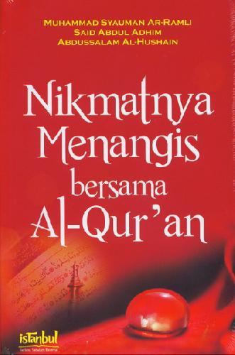 Cover Buku Nikmatnya Menangis Bersama Al Quran