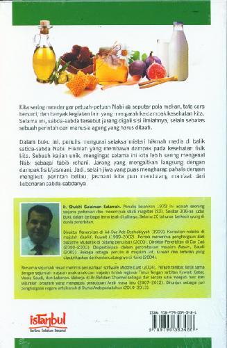 Cover Belakang Buku Thibbun Nabawi: 31 Mukjizat Ilmiah Hadits2 Nabi Ttg Kesehatan