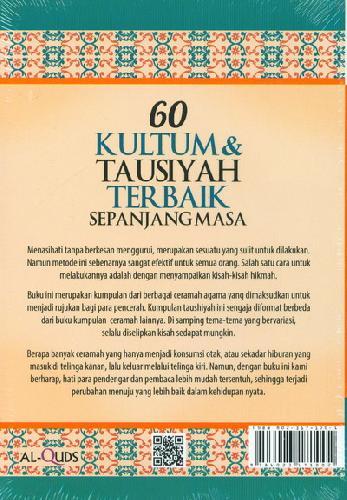 Cover Belakang Buku 60 Kultum&Tausiyah Terbaik Sepanjang Masa