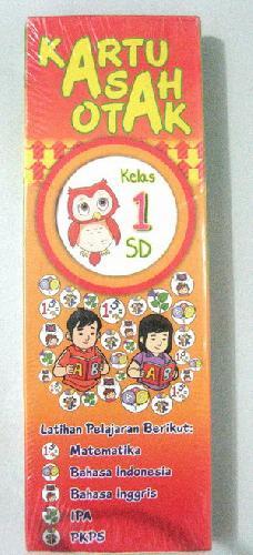 Cover Buku Kartu Asah Otak Kelas 1 SD