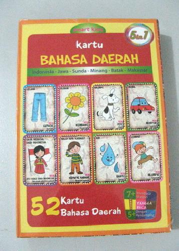 Cover Buku Kartu Bahasa Daerah